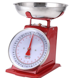 kitchen scale- gift ideas for homesteaders