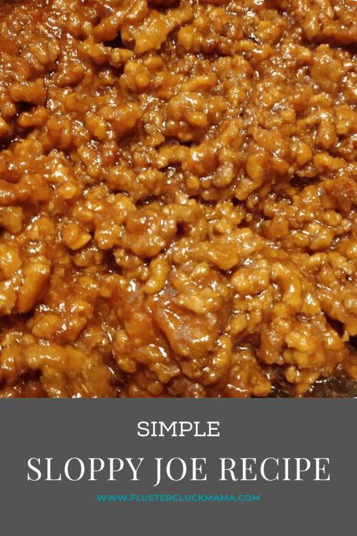 Simple Sloppy Joe Recipe