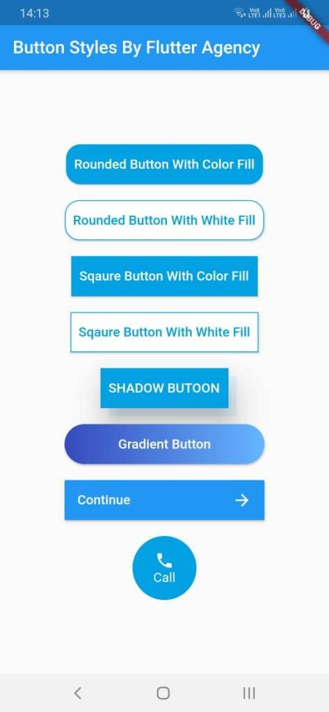 Different Button Styles