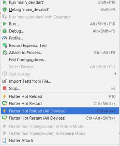 Android Studio Flutter