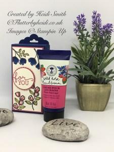 Neal's Yard Wild Rose Handcream box by flutterbyheidi
