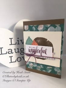 Rooted in nature onstage card by Flutterbyheidi