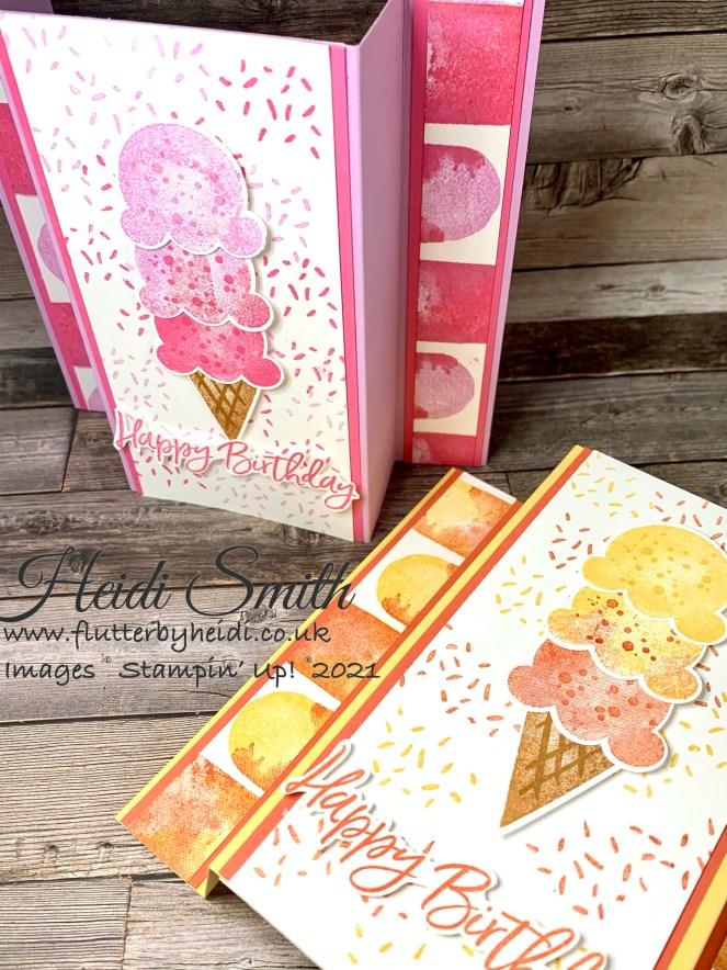 fold back card