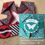 Sunday Scoring 19 Napkin Fold Card Flutterbyheidi