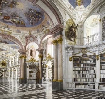 Admont Library, Austria (Photo taken by Will Pryce)