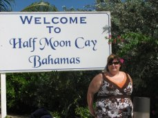 Half Moon Cay, Bahamas! First time out of the country