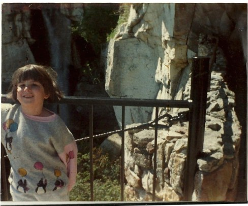First trip to Rock City. I think I was about 5 years old.