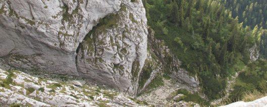 alpinism Piatra Craiului, Canionul Cioranga