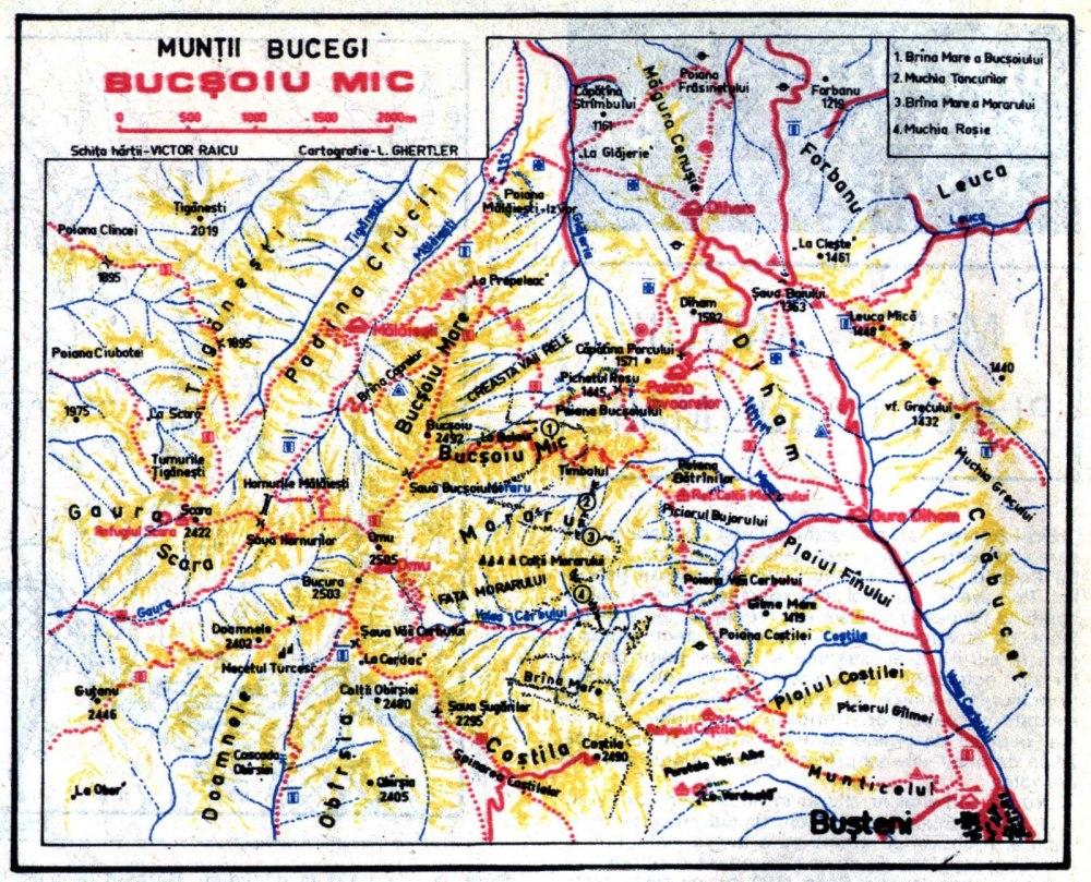 harta creasta balaurului