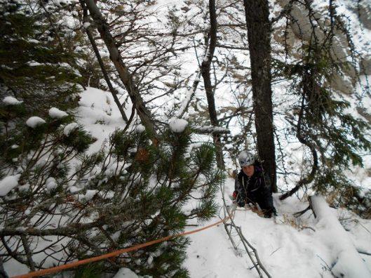 traseu alpinism de iarna, Petit Jackson