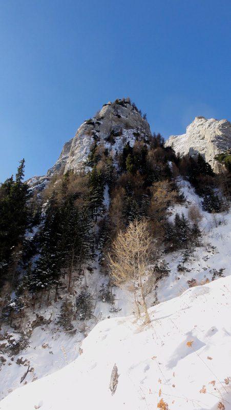 alpinism iarna la refugiul costila