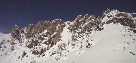 creasta muntii ciucas iarna