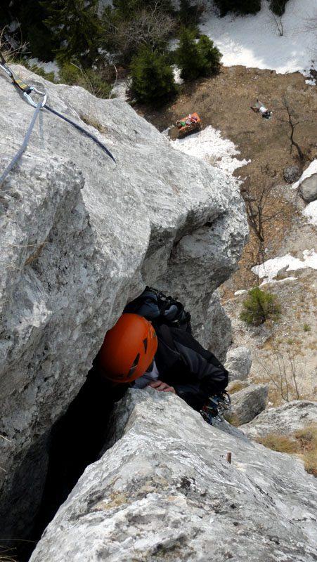 escalada Sfanta Ana, Sinaia