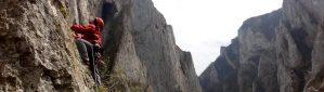 Alpinism in Cheile Turzii
