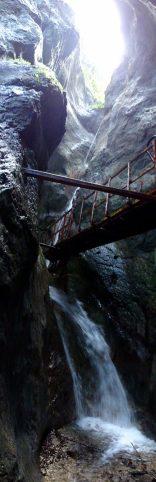 traseu turistic piatra mare, canionul sapte scari