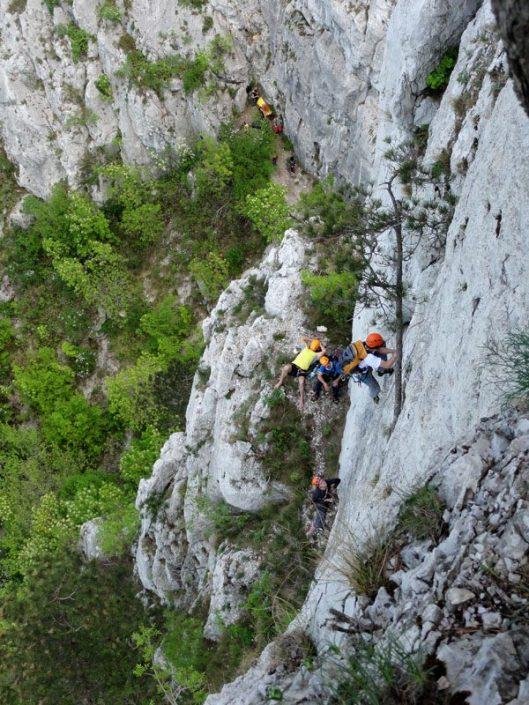 traseu alpinism baile herculane cariera