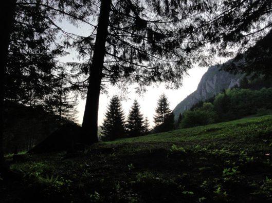 camping la munte