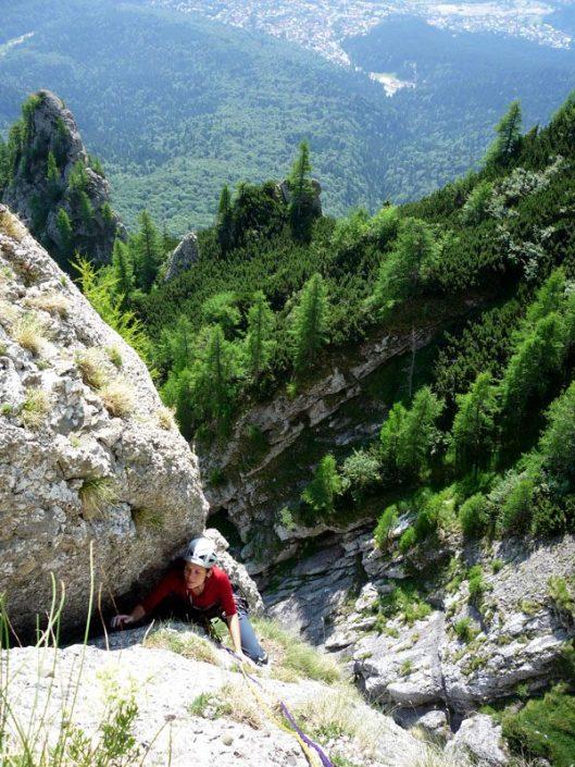 traseu alpinism, Muntii bucegi