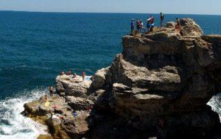 deep water solo în Bulgaria