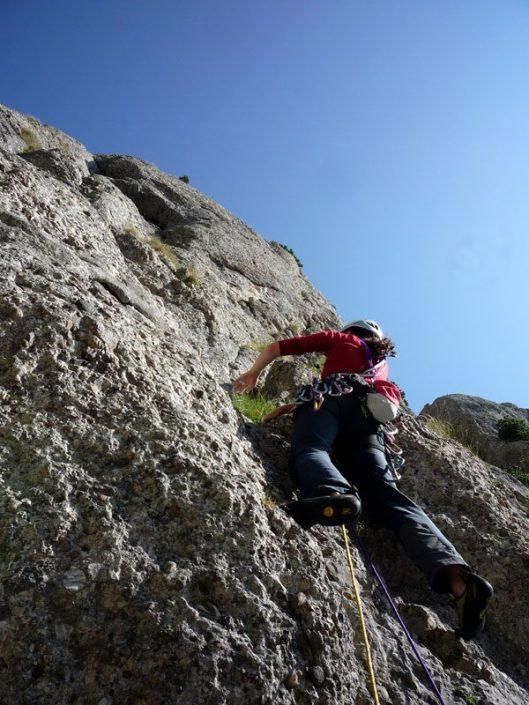 traseu alpinism muntii bucegi