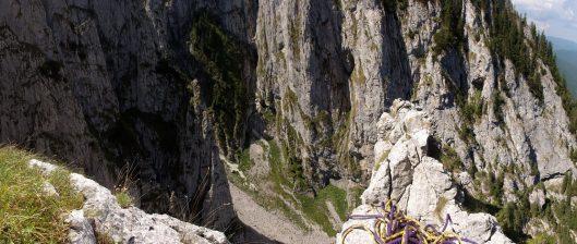 alpinism în Padina Închisă