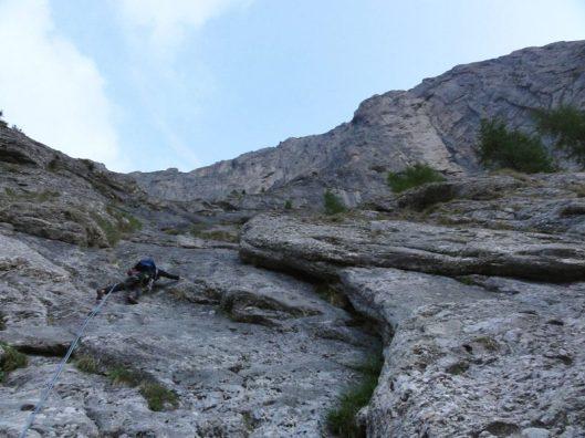 peretele vaii albe_alpinism
