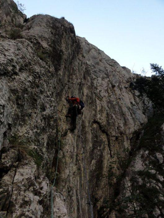 alpinism în Piatra Craiului
