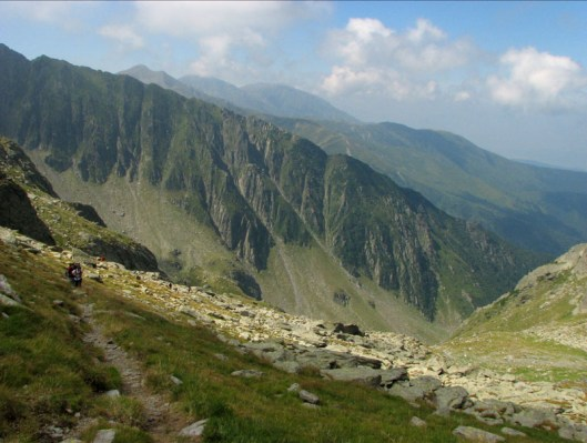 Varful Negoiu in Fagaras