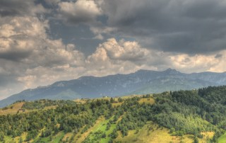 panorma mountains Bucegi Romania