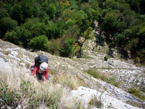 alpinism Postavaru, Fata Inalta, traseul Catrinel
