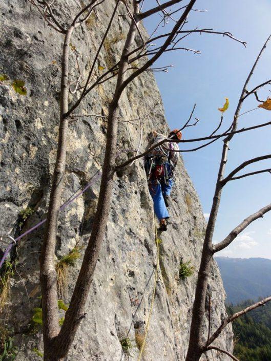 Traseul Catrinel din Fata Inalta, multipitch climgin