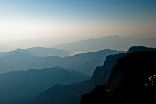 panorama muntii ceahlau