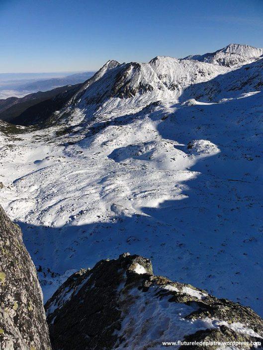 creasta vulturilor, alpinism iarna retezat