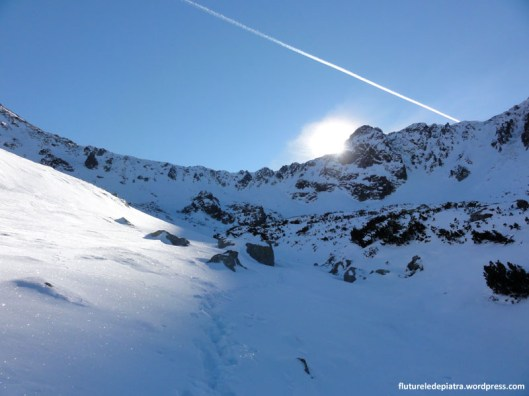 snow shades retezat mountains