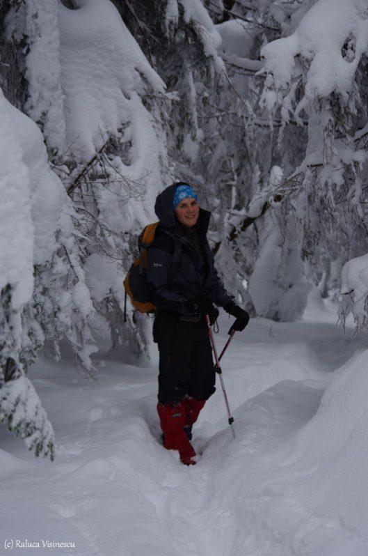 trekking pichetul rosu