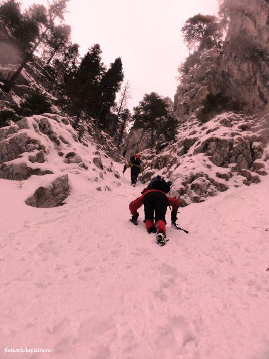 aventuri la munte, refugiul sperantelor iarna
