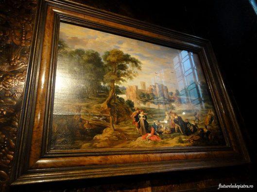 pictura salon intrare muzeu Rubens