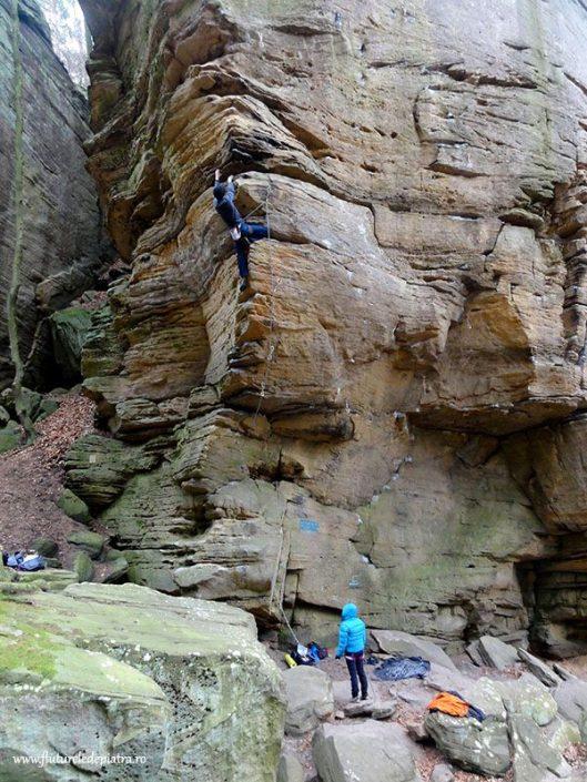 berdorf sandstone rock climbing