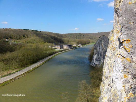 freyr climbing, meuse valley, belgium