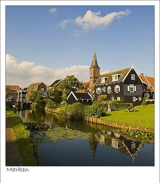 canale de apa Olanda, Tarile de Jos