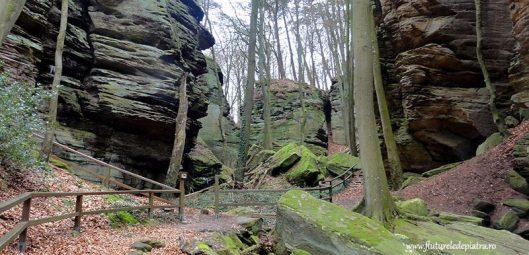 sanstone climbing crag berdorf luxembourg