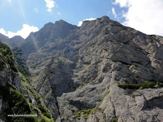 peretele costilei, alpinism romania