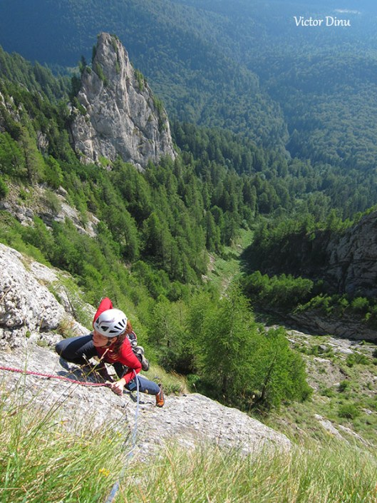 A doua lungime, Traseul Eneida, Munții Bucegi