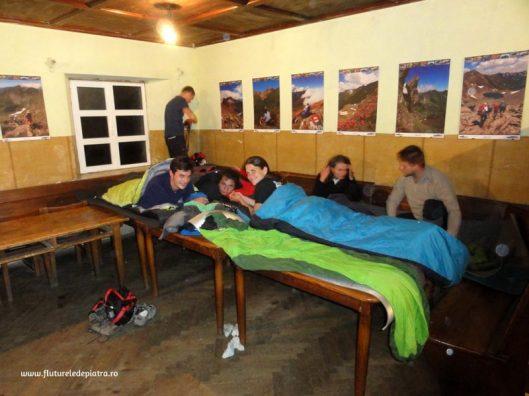 dormit in cabana podragu, fagaras