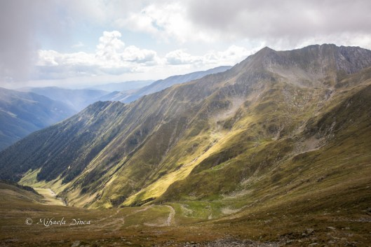 muntii fagaras panorama, moldoveanu