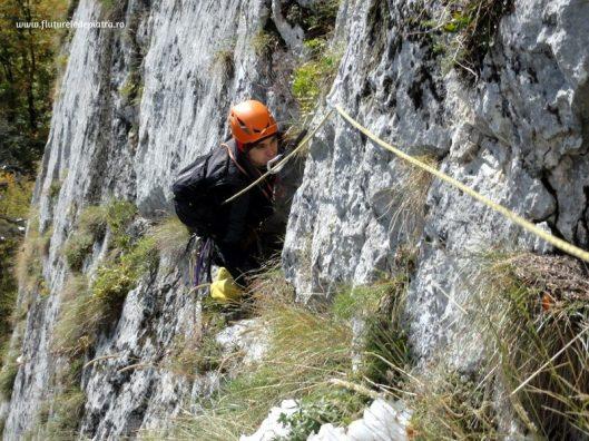 traseul cotofana, alpinism postavarul