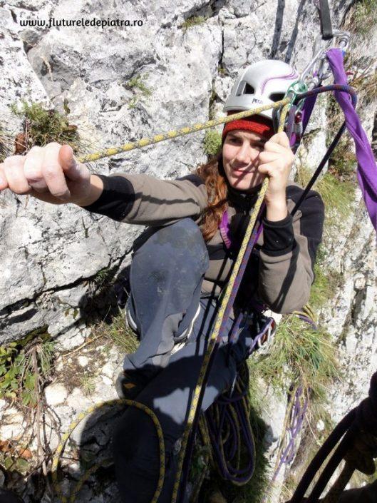 traseul cotofana filat alpinism
