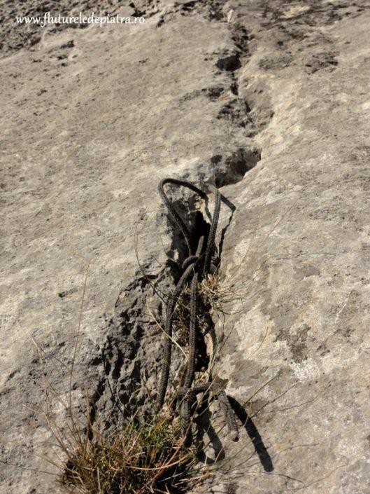 asigurare in clepsidra, alpinism