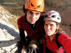 Traseul Ulise, alpinism Postavaru