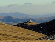 panorama crucea caraiman, platoul bucegi